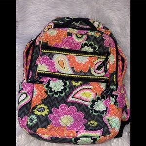 Vera Bradley Ziggy Zinnia Tech Backpack